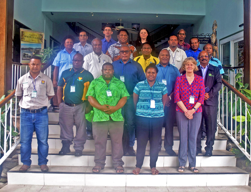 PNG Coconut Industry Bio Security Plan Initiated