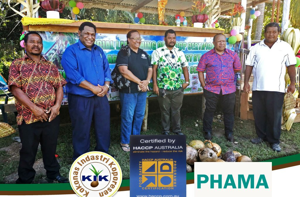 Aroma Coconut Products Ltd is now HACCP certified